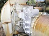 ガスコントロールダンパーの設置
