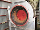 燃焼空気ファンの補修前