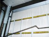 防音壁改修工事
